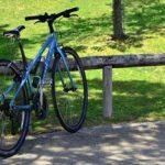 【自転車】サドル拭きタオルをシンプルに収納するアイデア