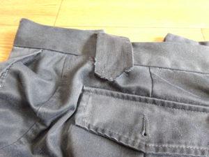 ズボンのほつれ01