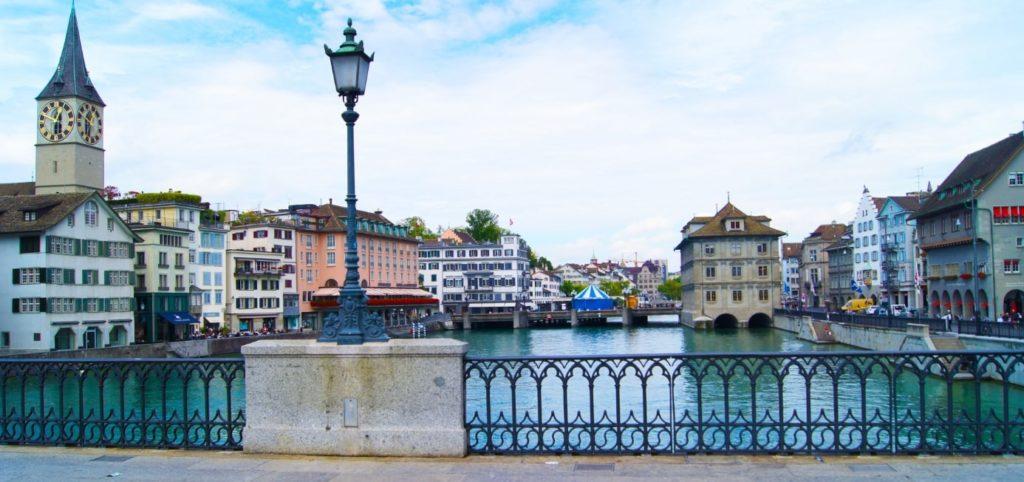 チューリッヒの町