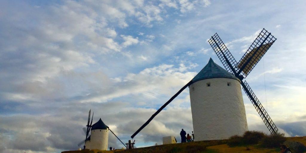 スペインの風車小屋