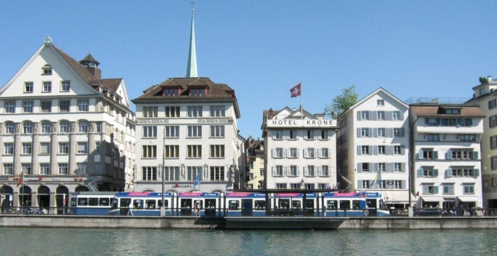 スイスの町