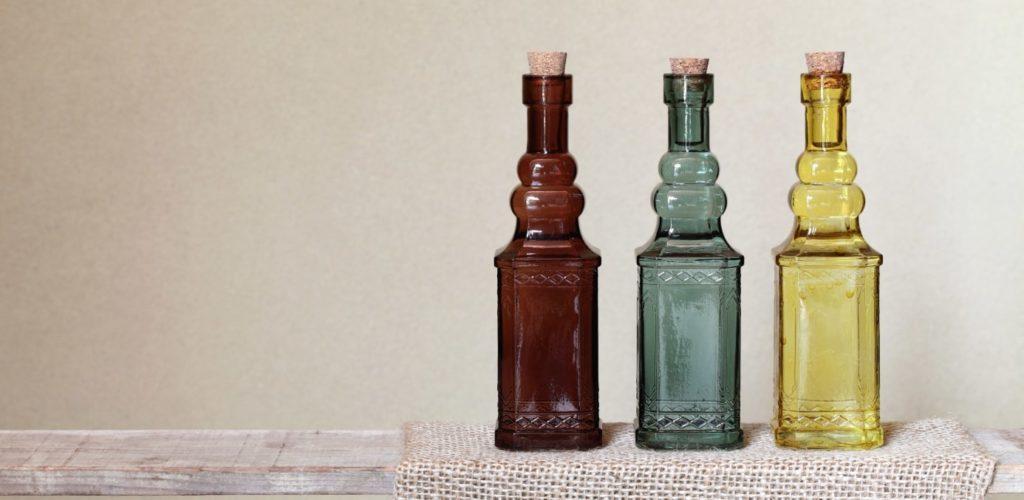 オリーブオイルの瓶