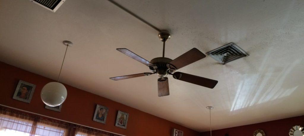 天井の扇風機