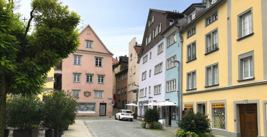 ドイツの町風景