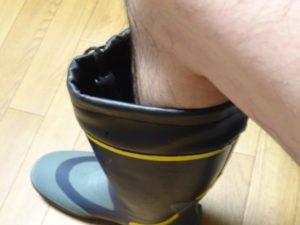 長靴足湯2