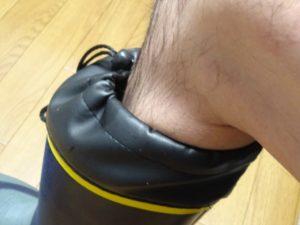 長靴足湯3