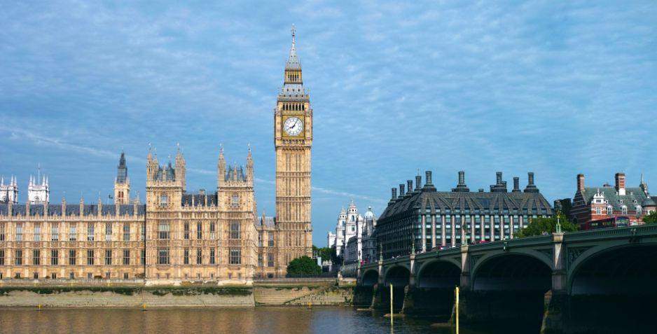 ロンドンの街