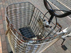 自転車カゴ壊れ2
