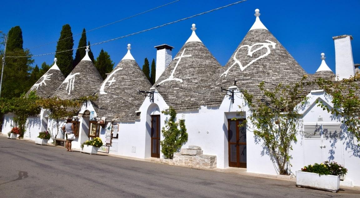 イタリアの白い家