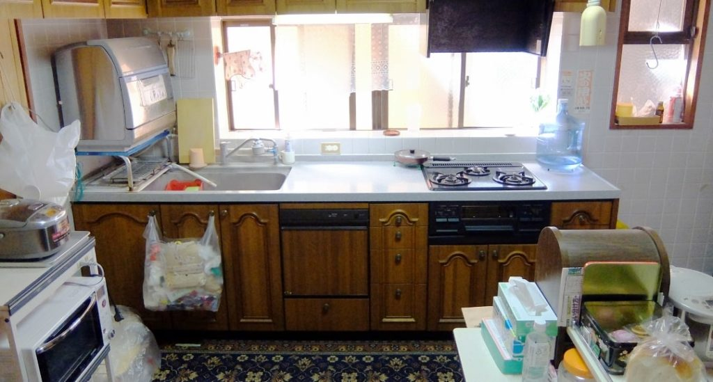 生活感のある台所