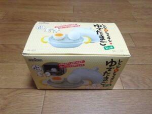 レンジでゆで卵1