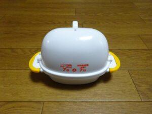 レンジでゆで卵2