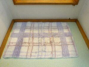 布のバスマット