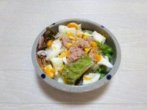 ツナ玉子サラダ