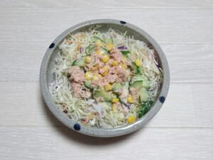 ツナきゅうりサラダ