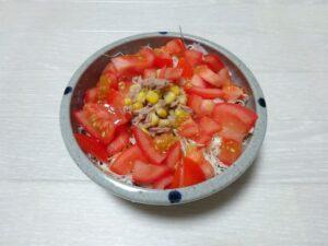ツナトマトサラダ